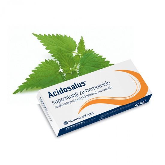 Acidosalus supozitoriji za hemoroide