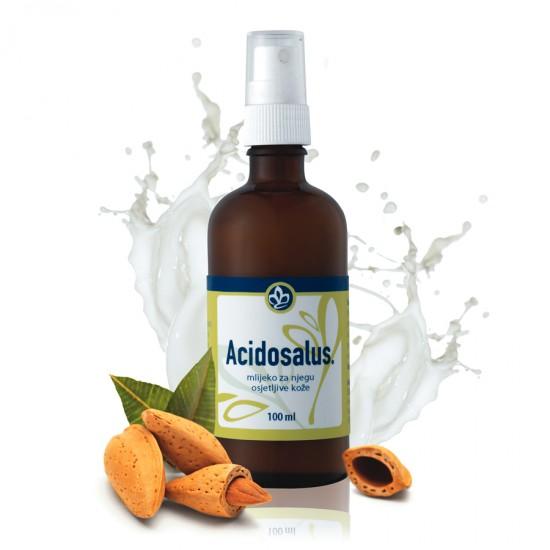 Acidosalus mleko za telo